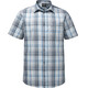 Jack Wolfskin Hot Chili Shirt Men dark iron checks